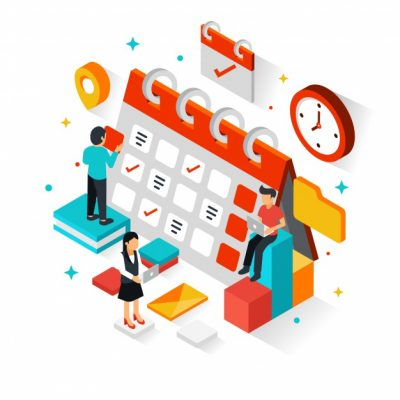 planning-schedule-concept-with-isometric-perspective_23-2147944706